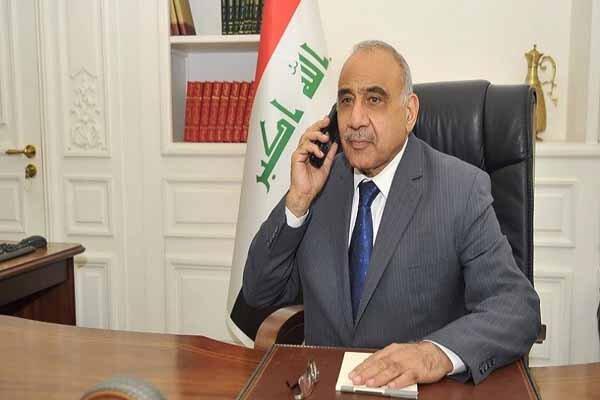 گفتگوی تلفنی عبدالمهدی با اردوغان