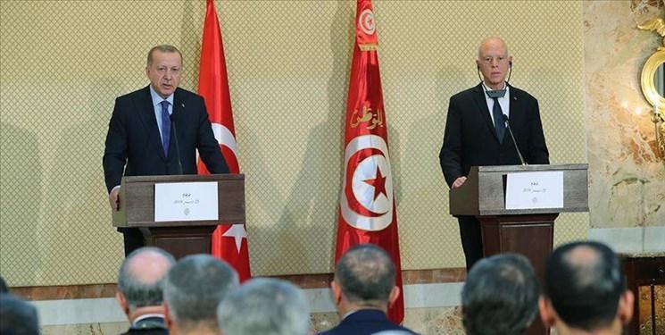 هشدار اردوغان در تونس درباره پیآمدهای اوضاع لیبی